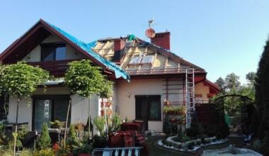 Ocieplanie dachu pianką - Kraków